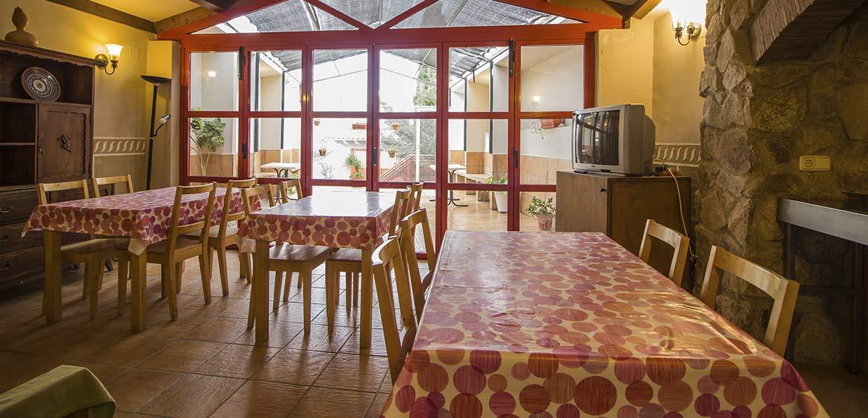 Salón Comedor Casa rural del Corral