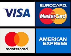 Sistemas de pago aceptados