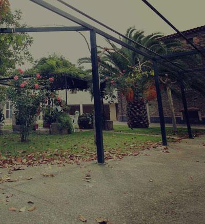 Patio Jardin Casa Rural del Corral